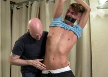 First Look: Donkey Dick James Feels Cock Torture and Anal Humiliation