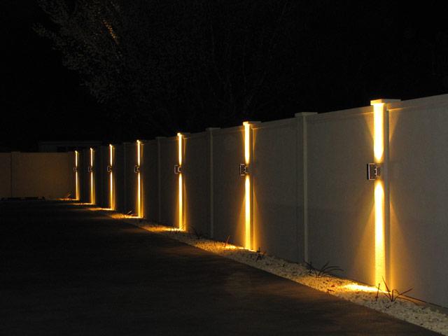 straight line fence