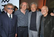 Roger Daltrey, Alistair Morrison, Tom Jones και Peter Frampton
