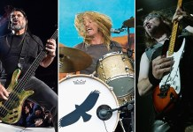 Robert Trujillo/Taylor Hawkins/Adrian Smith