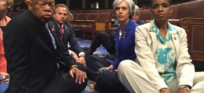 democrats, sit in, congress, republican, gun control, gun safety