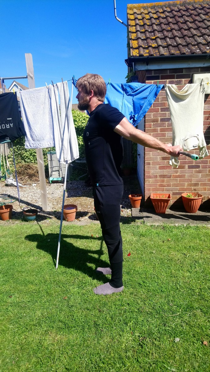 Active shoulder extension May 2019