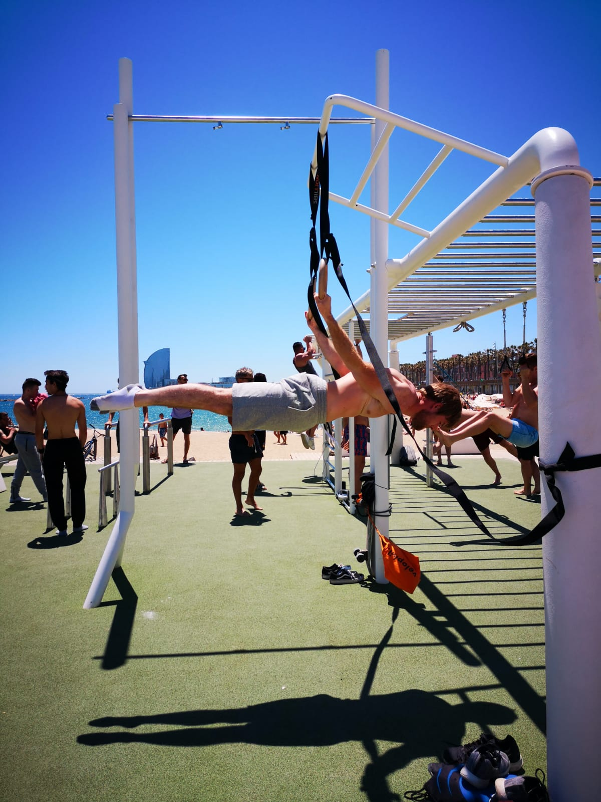 Barcelona JUN 2019 BACK LEVER