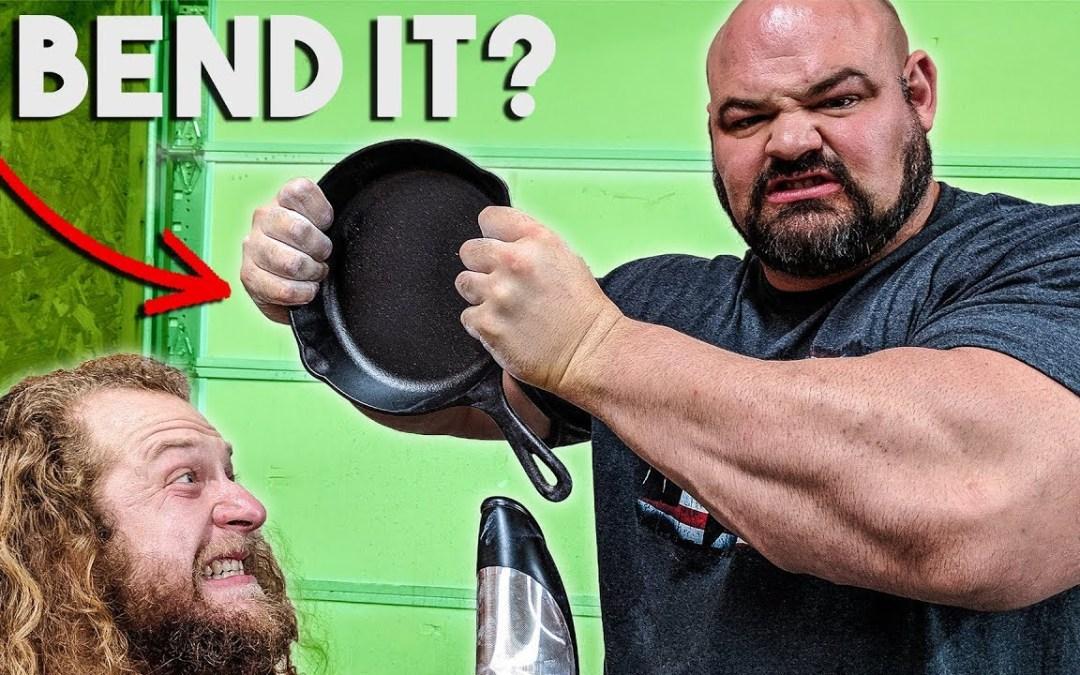 Brian Shaw Rolling a Frying Pan (Jujimufu)