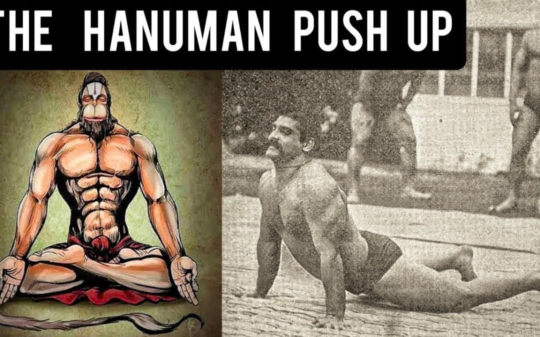 Performing the Hanuman Push Up (Karate TV)