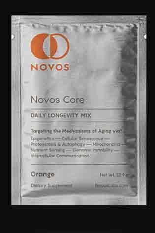 NOVOS Core Anti-Aging Supplements (Daily Longevity Mix)