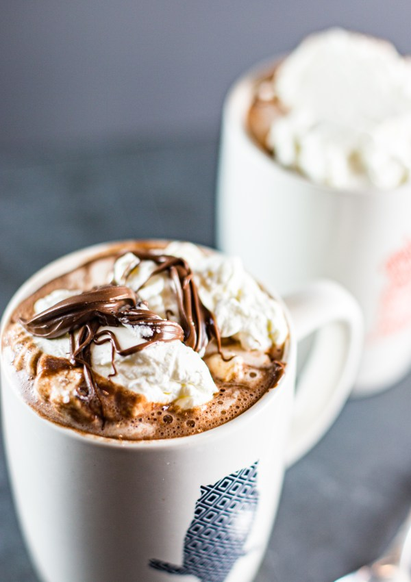 Nutella Hot Chocolate with Kahlua