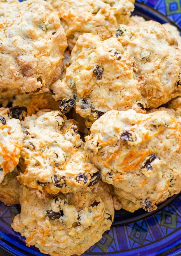 Carrot & Raisin Spice Cookies