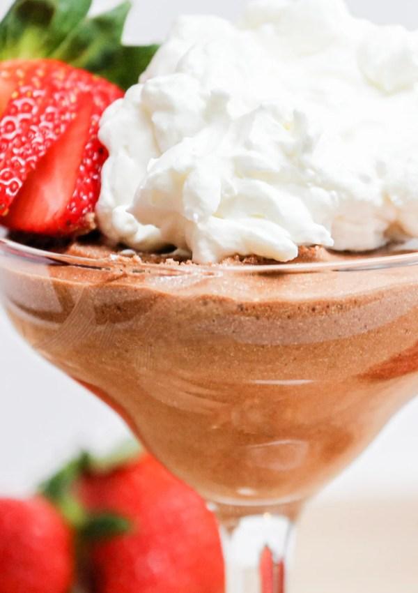 Julia Child's Chocolate Mousse