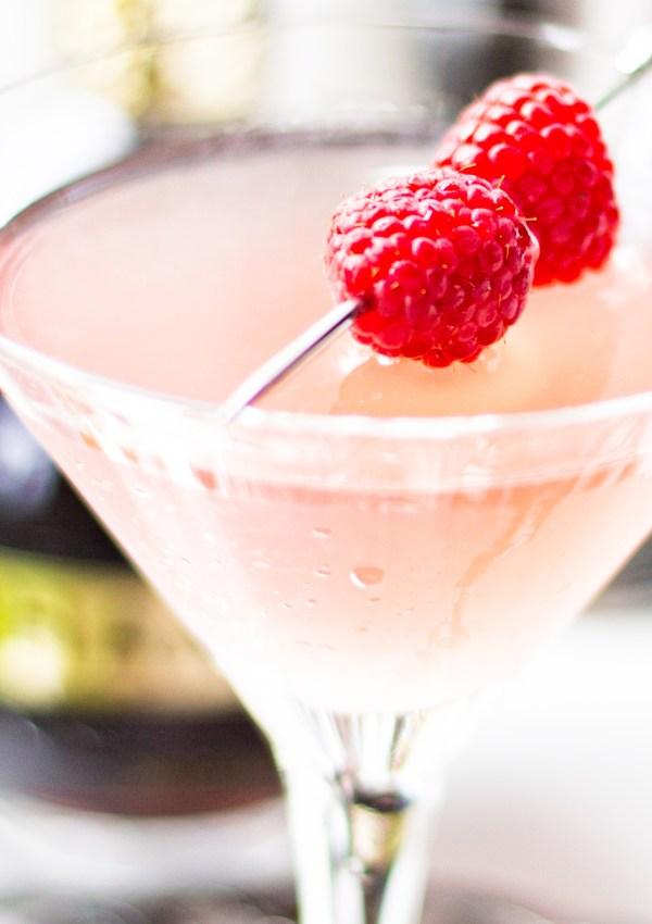 Chambord Raspberry Gin Fizz
