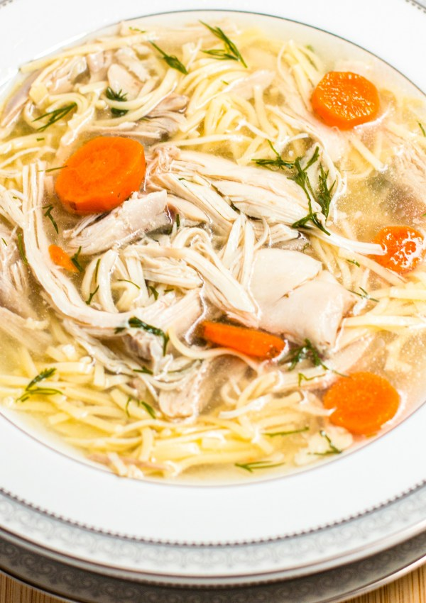 Fran's Real Chicken Soup