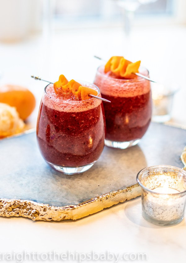 Holiday Frozen Sangria