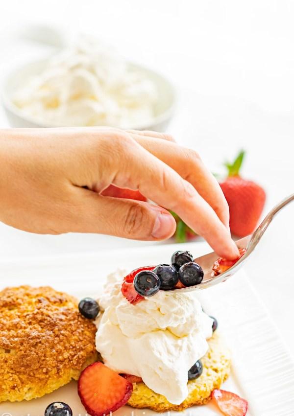 Red, White & Blue Shortcakes