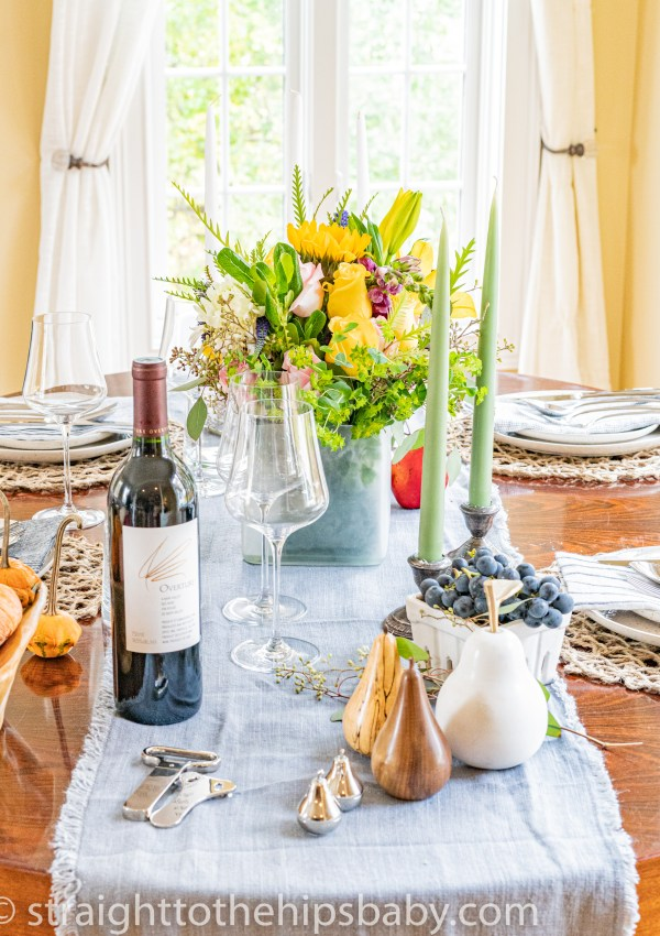 A Scaled Down Thanksgiving – Planning for Five