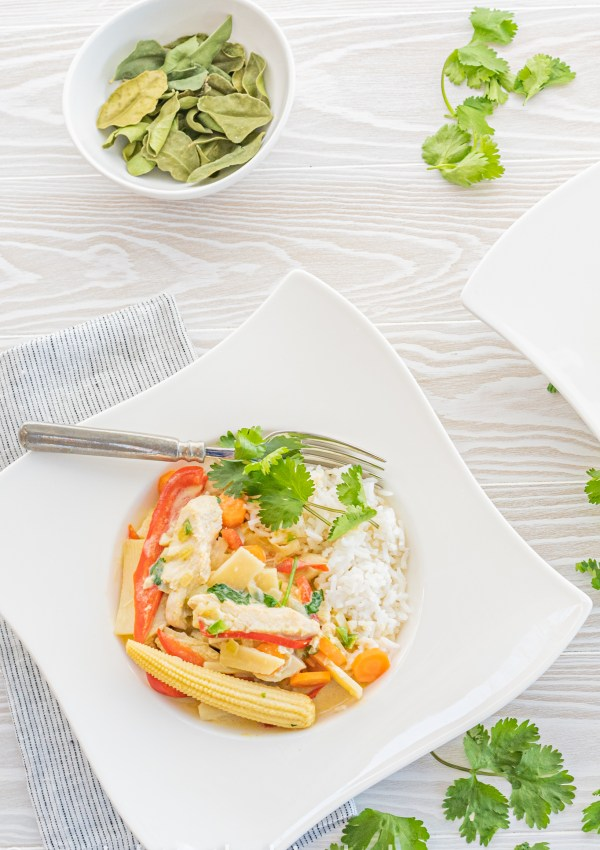 Simple Thai-Style Leftover Turkey Green Curry