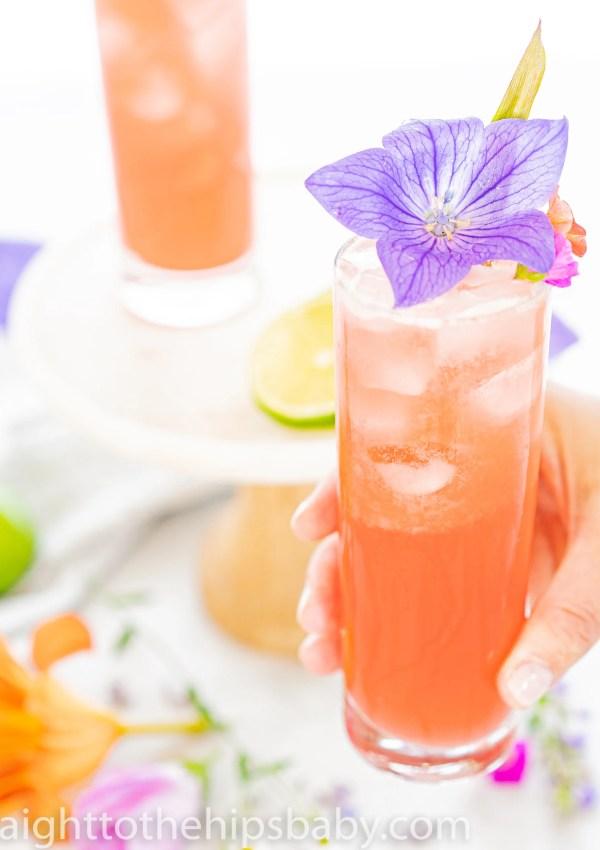 How to make a Refreshing Pineapple & Hibiscus Daiquiri!