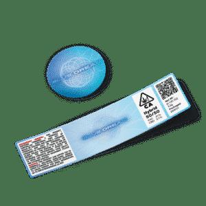 Blue Dream Glass Jar Strain Labels