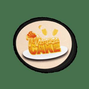 Mimosa Cake Strain/Slap Stickers/Labels.