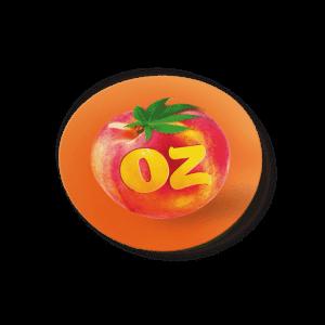 Peach Oz Strain/Slap Stickers/Labels.