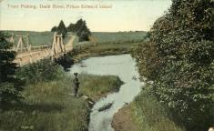 Dunk River Prince Edward Island, Valentine & Sons #100921