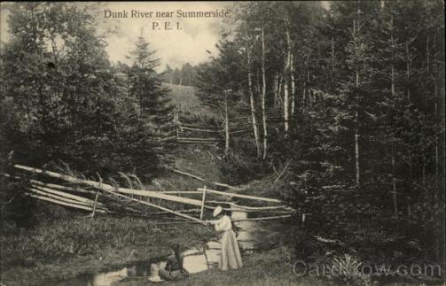 Dunk River Near Summerside, P.E.I.
