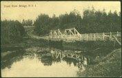 Dunk River Bridge, P.E.I. - PEI Museum & Heritage Foundation Collection