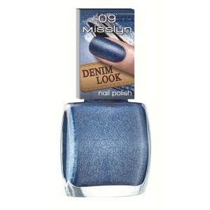misslyn denim look nail polish blue jeans