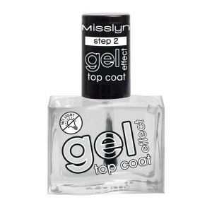 misslyn gel effect top coat