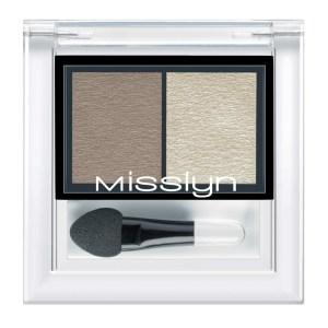 misslyn high shine duo eyeshadow tea rose