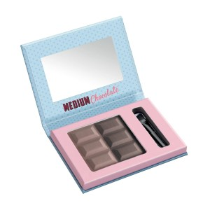misslyn chocolate brow duo eyebrow powder medium chocolate (open)