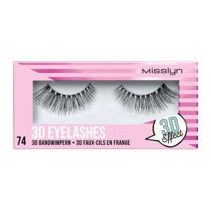 misslyn 3d eyelashes no 74