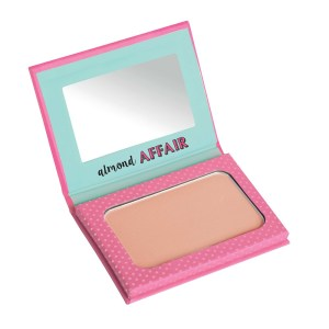 misslyn make it last forever mattifying powder almond affair (open)