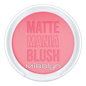 misslyn matt mania blush matt pink mania