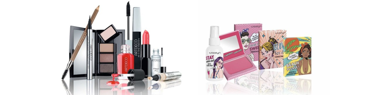 Makeup Category: An array of makeup products