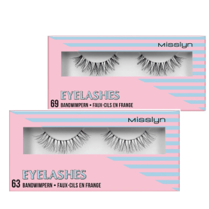 misslyn eyelashes No. 63 & 69