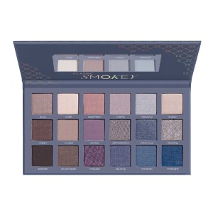 artdeco eyeshadow palette smokey open