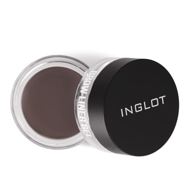 inglot x maura bad ass brows dark brown