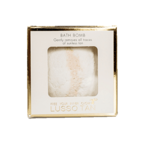 lusso tan the original bath bomb