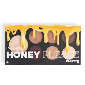 inglot honey please eyeshadow palette (closed)