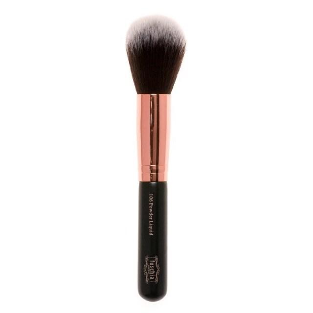 fuschia powder liquid brush 106