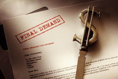 Final Demand For Payment