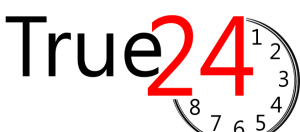 True 24 trademark logo