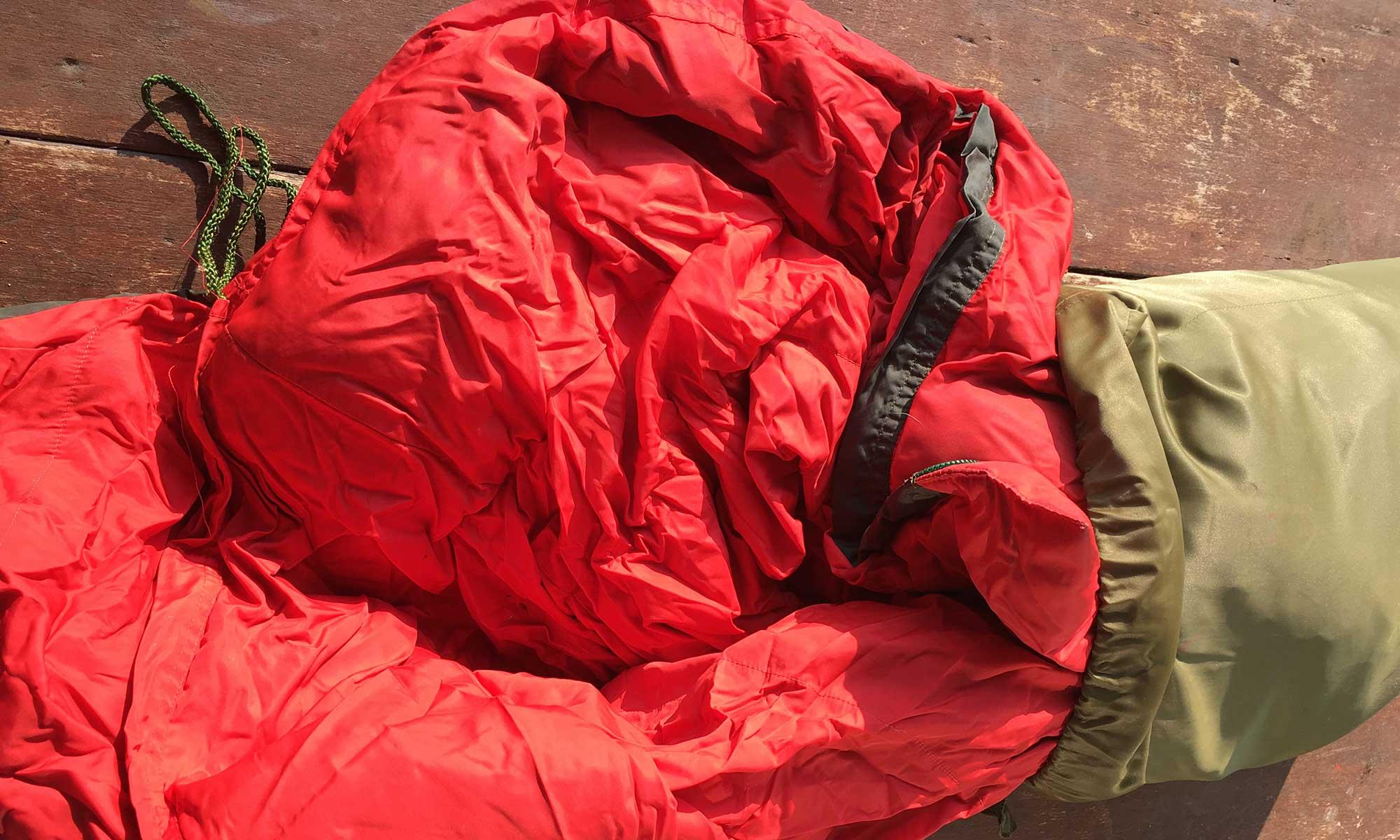 Daunen Schlafsack