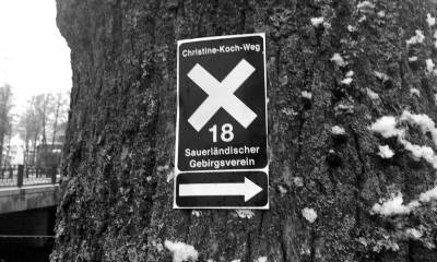 Schild Christine Koch Weg