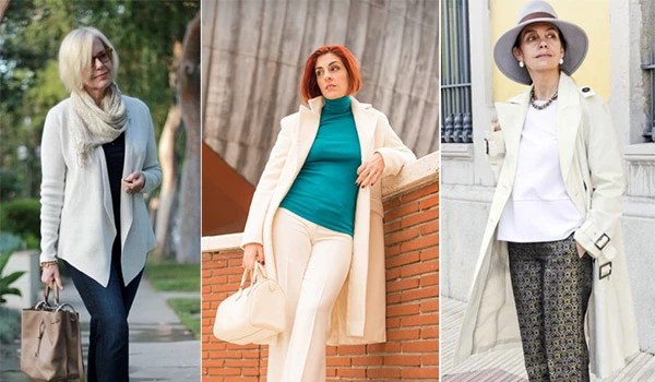 dc5be17063 Ako vyzerať dobre po 50 rokoch žena. Používa sa moderné ...