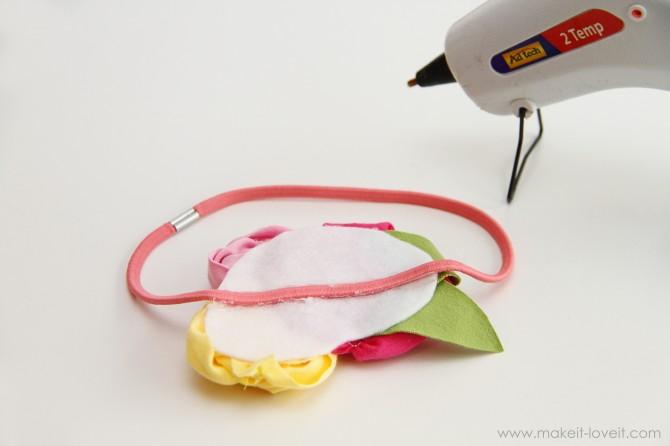 Kız için kafa bandı - ana sınıf ve şablonlar