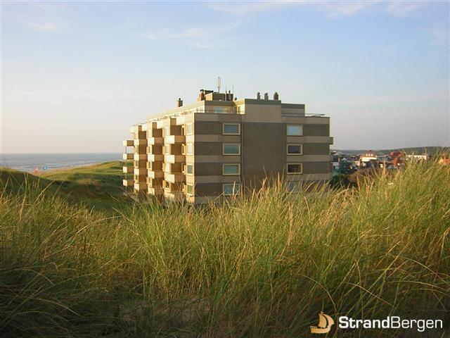 Appartement Bergen aan Zee  Appartement met zeezicht