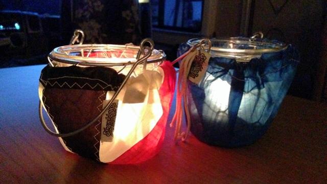 teelicht kite - Stranddeko Teelichter