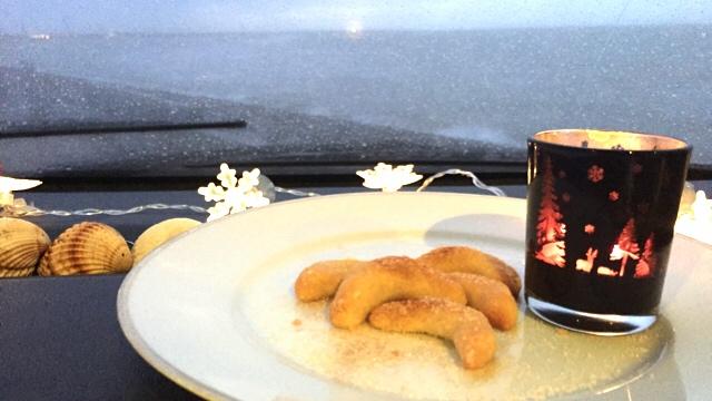 cashew kipferl - Backe, backe Meerblick!