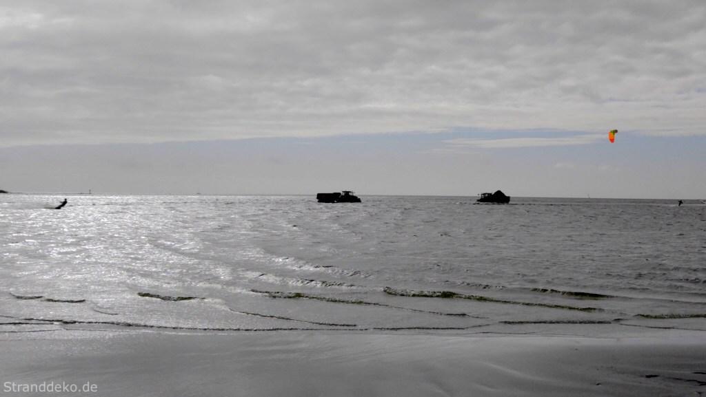 bagger im ijsselmeer - Bunte Osterüberraschung